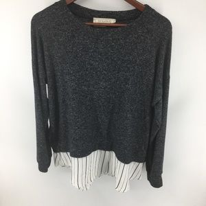 Sinuous Soft Sweater